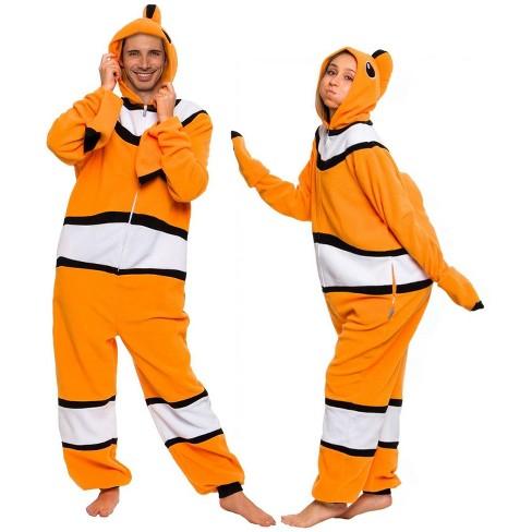Funziez! Clown Fish Slim Fit Adult Unisex Novelty Union Suit - image 1 of 4