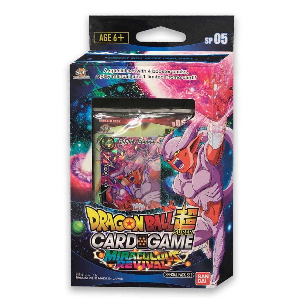 Dragon Ball Z Trading Card Special Pack Miraculous Revival