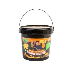 Guava Toys Premade Hot Lava Slime Bucket
