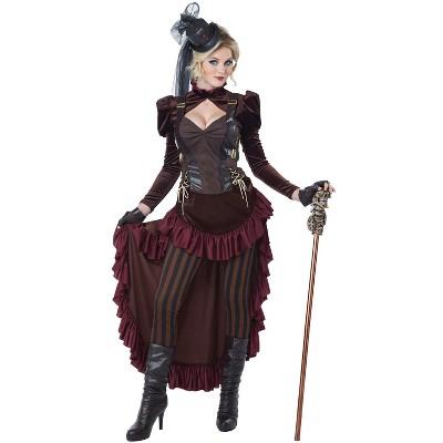 California Costumes Victorian Steampunk Adult Costume