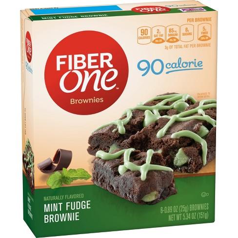fiber one mint fudge brownies 5 34oz target