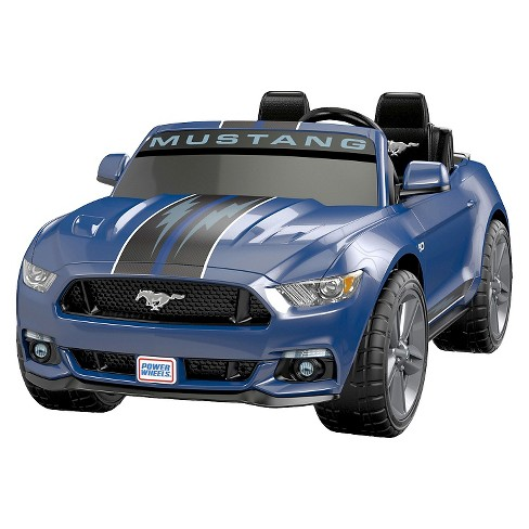 Fisher Price Power Wheels Smart Drive Ford Mustang Blue Target