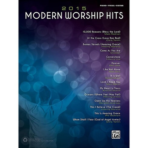 Alfred 2015 Modern Worship Hits - Piano/Vocal/Guitar Songbook - image 1 of 1