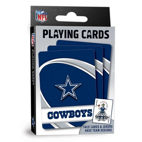NFL Dallas Cowboys Playing Cards - image 1 of 4