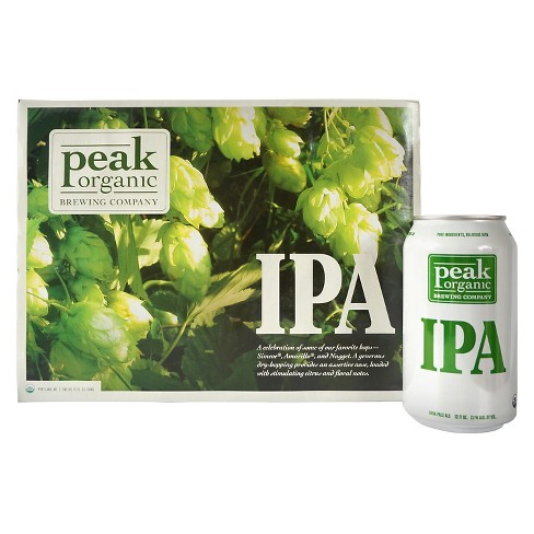 Peak Organic® IPA - 12pk / 12oz Cans - image 1 of 1