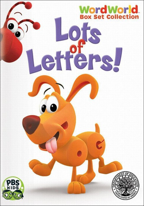 WordWorld: Lots of Letters! Box Set [2 Discs] - image 1 of 1