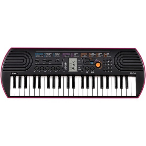 Casio SA-78 Mini-Size Keyboard Pink - image 1 of 3