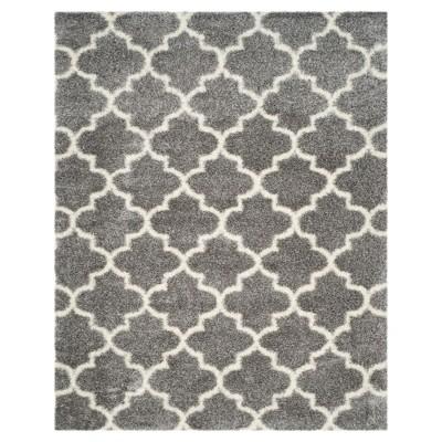Montreal Shag Rug - Gray/Ivory - (6'7 X9'6 )- Safavieh®