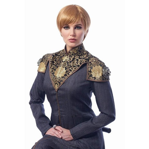 Costume Culture by Franco LLC Medieval Queen Adult Costume Wig | Dark Blonde - image 1 of 1