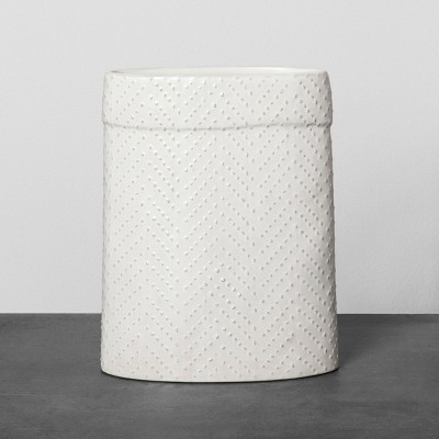 Textured Sack Vase - Cream - Hearth & Hand™ with Magnolia