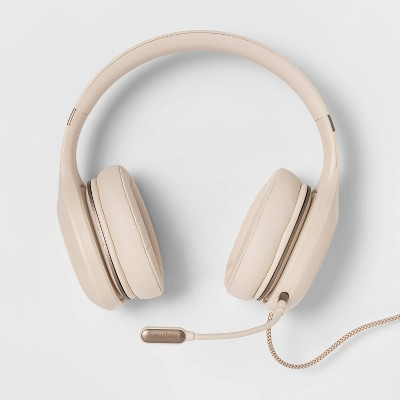 heyday™ On-Ear Wired Headset - Stone White