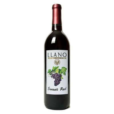 Llano Estacado Sweet Red Wine - 750ml Bottle