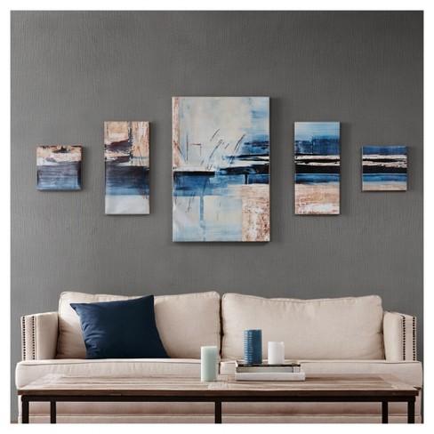 overseas printed canvas with gel coat 5 piece set target