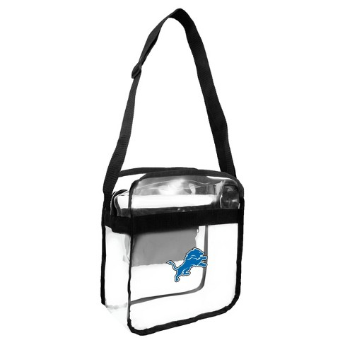 5645833f NFL Detroit Lions Clear Carryall Crossbody Bag