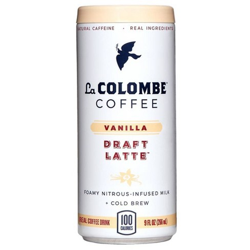 La Colombe Draft Latte Vanilla - 9 fl oz Can - image 1 of 4