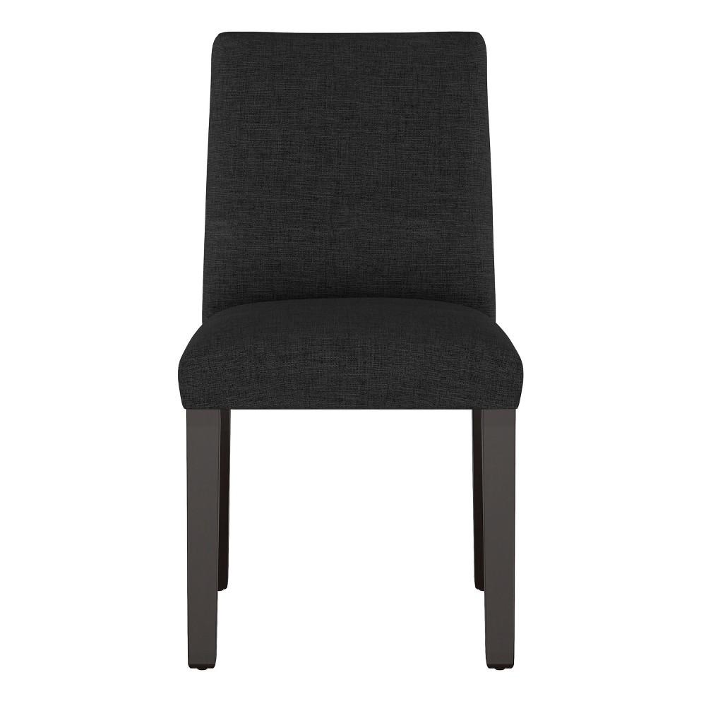 Modern Dining Chair Black Linen Project 62 8482