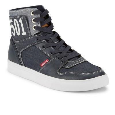 Levi's Mens 501 Mason Hi Chm Denim Hightop Sneaker Shoe