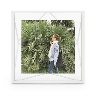 """4"""" x 4"""" Prisma Single Photo Display Frame White - Umbra"""