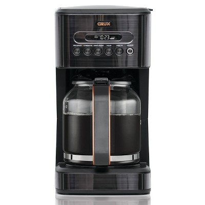 Crux 14 Cup Programmable Coffee Maker - CRX14808