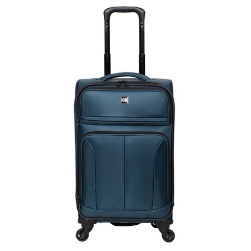 "Skyline 21"" Spinner Suitcase - Teal - image 1 of 4"