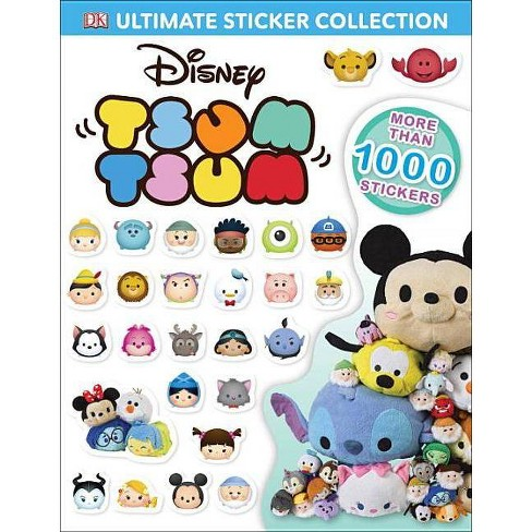 Disney Tsum Tsum Ultimate Sticker Collection Publishing Staff Paperback By Julia March Target