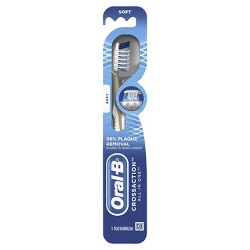 Oral-B Cross Action All In One Manual Toothbrush, Soft