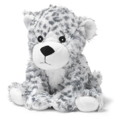 "Intelex Warmies Microwavable Plush Cuddly 13"" Snow Leopard"
