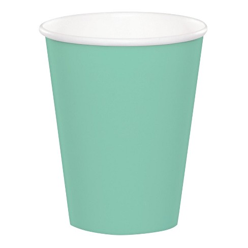 24ct 9 Oz. Cups - Green - image 1 of 1