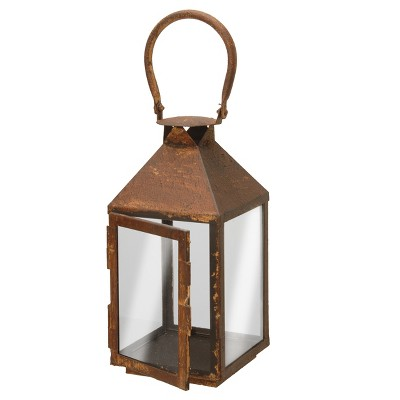 "Garden Accents Artificial Lantern Rust 12"" - National Tree Company"
