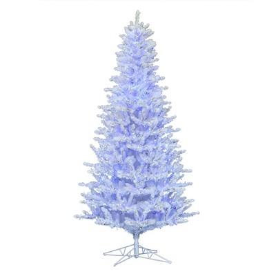 Vickerman Shiny White Spruce Artificial Christmas Tree