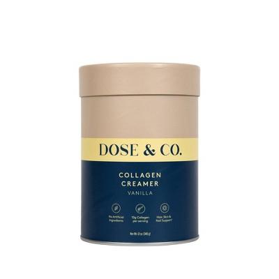 DOSE&CO Collagen Creamer - Vanilla - 12oz
