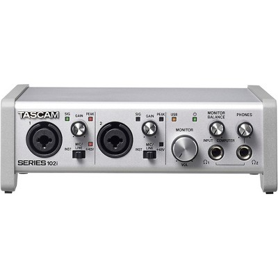 Tascam TASCAM SERIES 102i 10-In/2-Out USB Audio/MIDI Interface