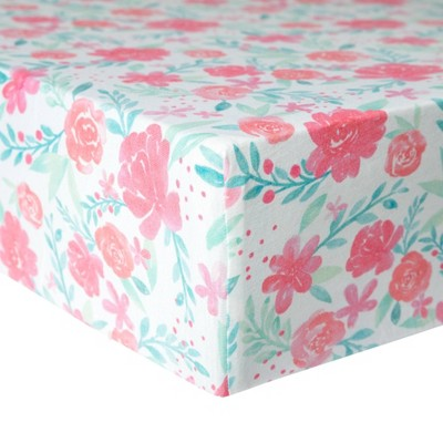 Copper Pearl Premium Crib Sheet - June