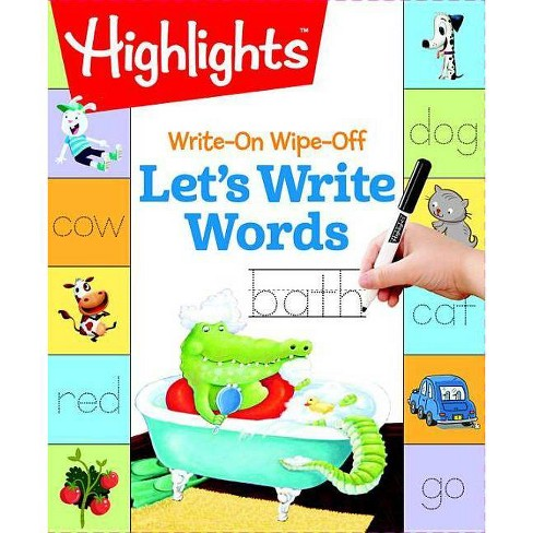 Write-On Wipe-Off Let's Write Words -  (Paperback) - image 1 of 1