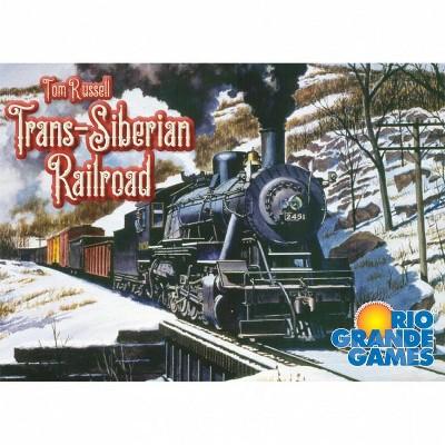 Trans Siberian Railroad Board Game