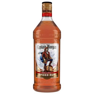 Captain Morgan Spiced Rum - 1.75L Plastic Bottle