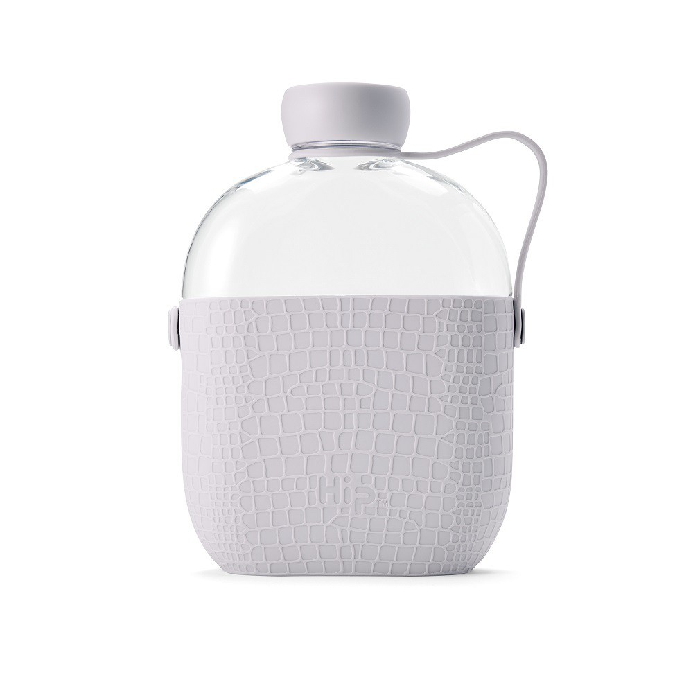Image of Hip 22oz Water Bottle Gray, White