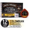Java House Cold Brew Colombian Black Medium Roast Single Serve - 12ct - image 2 of 4