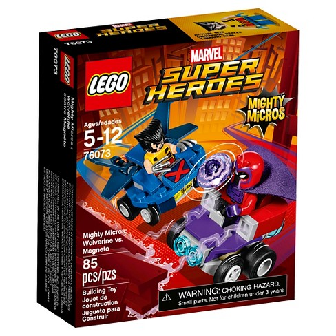 LEGO® Super Heroes Mighty Micros: Wolverine vs. Magneto 76073 - image 1 of 11