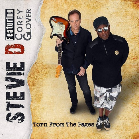 Stevie d & corey glo - Torn from the pages  cd (CD) - image 1 of 1