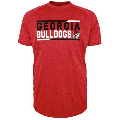 NCAA Georgia Bulldogs Men's Short Sleeve Performance T-Shirt