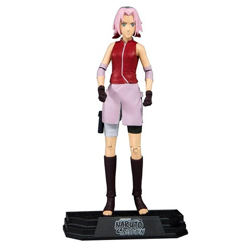 "Mcfarlane Toys Naruto Shippuden Sakura 7"" Collectible Action Figure - image 1 of 1"