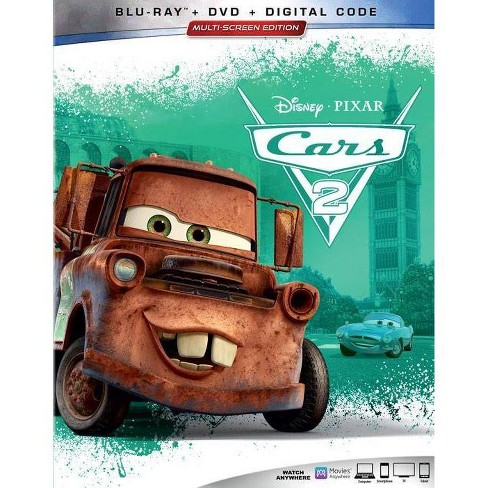 Cars 2 Blu Ray Target
