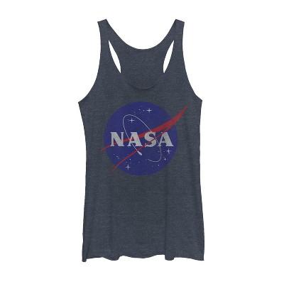 Women's NASA Logo Racerback Tank Top