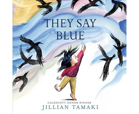 They Say Blue -  by Jillian Tamaki (School And Library) - image 1 of 1
