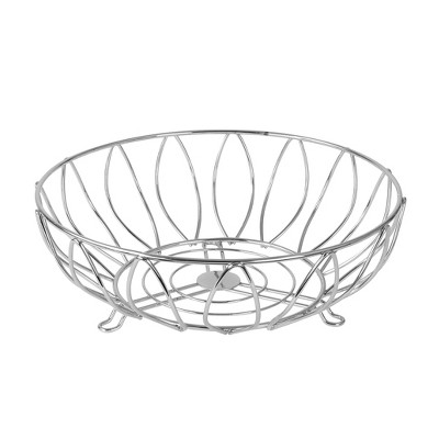 Spectrum Leaf Fruit Bowl - Chrome