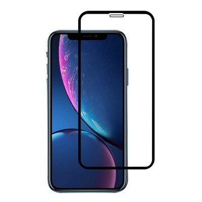 Valor Clear Tempered Glass LCD Screen Protector Film Cover For Apple iPhone 11/XR - Black