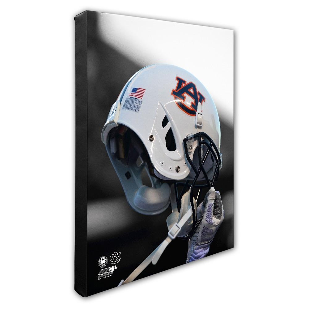 NCAA Auburn Tigers Helmet Canvas Wall Art - 16