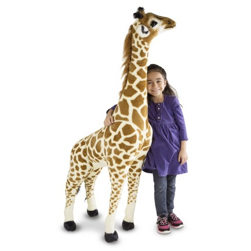 Melissa Doug Giant Giraffe Lifelike Stuffed Animal Target