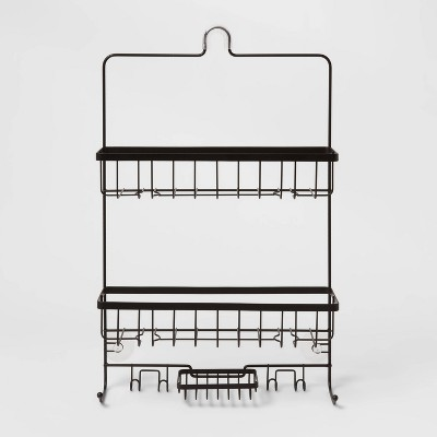 Large Bathroom Shower Caddy Black - Made By Design™